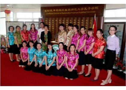 泰京培知公学全体中文教师参加曼松德孔院首届汉语教学研讨会