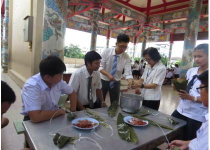 培知公学举办庆祝端午节活动