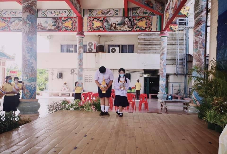 โรงเรียนผดุงกิจวิทยาได้จัดพิธีถวายพระพรชัยมงคล เนื่องในวโรกาสวันเฉลิมพระชนพรรษา 68 พรรษา